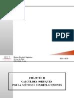Calcul Des Structures Portiques Methode Des Deplacements Jexpoz 2