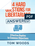 14 Hard Questions for Libertarians Answered - Tom Woods