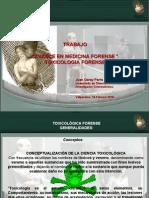"""""""AVANCE EN MEDICINA FORENSE """"TOXICOLOGIA FORENSE"""
