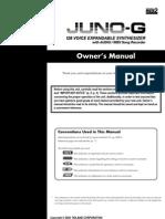 Manual de Usuario JUNO-G