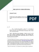 2.5.1.27 de Jaimes Joyce Como Sintoma, 1976