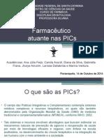 Práticas Integrativas e Complementares - PICs
