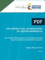 Guia Rapida Para Las Mediciones en Equipos Biomedicos v05282015