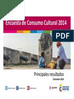 Consumo Cultural 2014