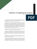 La Fragilidad de Nijinsky