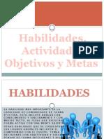 habilidades,actitudes,objetivos y metas de los grupo de trabajo