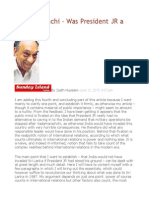 Vadamarachchi – Was President JR a Traitor - IV