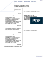 In re Elevator Antitrust Litigation - Document No. 8