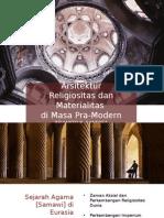 Architecture - Religiosity + Materiality