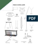 Chemistry Igcse Paper 6 Study Guide 1