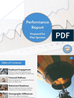 Sample Employer Performance Report