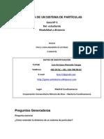 Dinamica de Un Sistema de Particulas