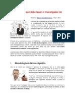 5 Habilidades Que Debe Tener El Investigador de Mercados