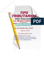 Tips Tributarios Providencias No.0591 y 0592