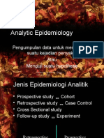 Analytllic Epidemiology