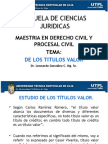 DE LOS TITULOS VALOR Dr. Leonardo González C.