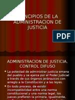 Principios de La Administracion de Justicia