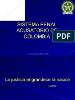 Sistema Penal Acusatorio