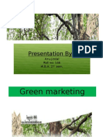 Green marketing Presentation