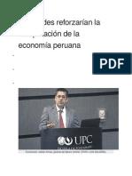 Facultades Reforzarían La Recuperación de La Economía Peruana