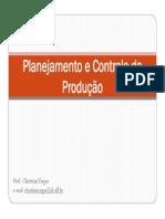 PCP - Módulo 6 - Sequenciamento e Emissão de Ordens