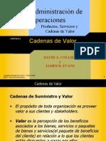 CADENAS DE SUMINISTRO Y VALOR