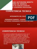 Presentación Competencia Tecnica
