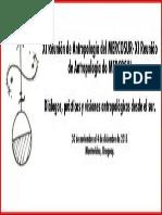 Simposios aceptados en el marco de la XI RAM. XI Reunión de Antropología del MERCOSUR (XI RAM), XI Reunião de Antropologia do MERCOSUL (XI RAM). Montevidéu, Uruguai.