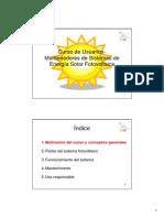 278_Manuales Usuarios Instalaciones Solares FV-2009