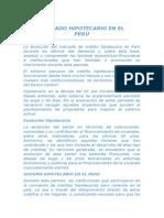 Mercado Hipotecario en El Perú