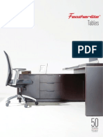 featherlite tables catalogue