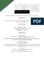 resume for educ 250 micaela jordan