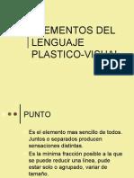Elementos del lenguaje plastico Visual