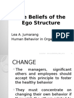 Beliefs on the Ego Structure - Lea Jumarang