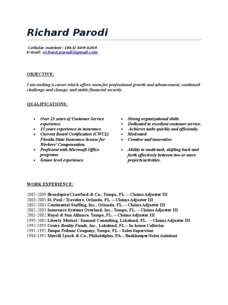 Richard Parodi Professional Certification Microsoft