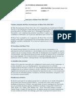 Resumen Del Plan Nacional Para El Buen Vivir 2013
