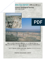 Breccia-pipe uranium mining in the Grand Canyon region and implications for uranium levels in Colorado River water - OPEN-FILE REPORT OFR-11-04 V1.0