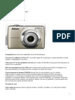 Nikon Coolpix L21_Especificações Técnicas