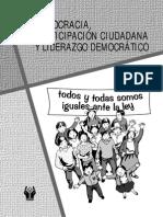 Democracia, Participacion Ciudadana y Liderazgo
