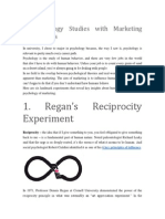 6 Psychology Studies With Marketing Implications