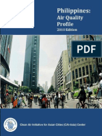 Philippines Air Quality Profile - 2010 Edition