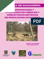sistema silvipastoril en la localidad del Sumapaz