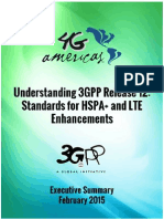 4G Americas - 3GPP Release 12 Executive Summary - February 2015