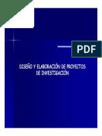 Elaboracion de Proyectos