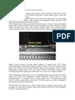 Cara Untuk Menguji Layar LCD Inverter Di Laptop