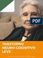 Trastorno Neurocognitivo Leve