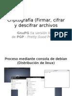 Criptografía (Firmar, Cifrar y Descifrar Archivos)