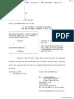 EMI April Music, Inc. et al v. Electronic Arts, Inc. - Document No. 7