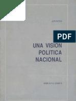 Sergio Onofre Jarpa Una visión política nacional