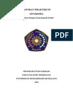 Laporan Fitokimia Fraksinasi dengan Kromatografi Kolom